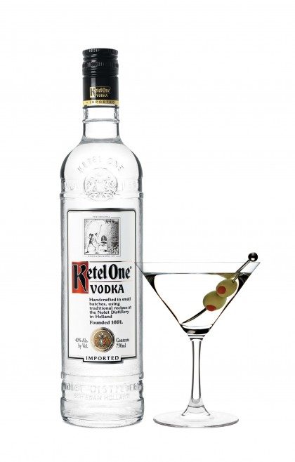 Vodka Ketel One, la esencia de un Vodka Martini.
