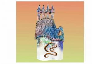 Con todo el sello de la casa Gaudí